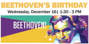 Beethoven's Birthday Celebration Poster