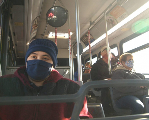 Pueblo Bus Passengers