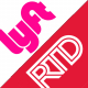 Lyft & RTD logos