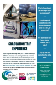 In person graduation trip experience website